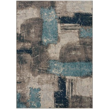 Maison & Déco Tapis Jadorel Tapis design et moderne Noutri Bleu 160x220 cm Bleu