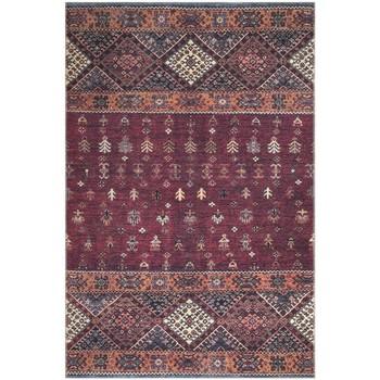 Maison & Déco Tapis Jadorel Tapis design et moderne Khourjine Vintage 1 Rouge 115x180 cm Rouge