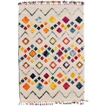 Maison & Déco Tapis Jadorel Tapis design et moderne Tang Multicolore 60x110 cm Multicolore