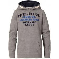 Vêtements Enfant Sweats Petrol Industries Sweat junior  gris à capuche Gris