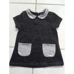 Vêtements Fille Robes courtes Sans marque Robe à paillettes - LPC GIRLS - 6 mois Noir