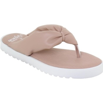 Chaussures Femme Tongs Amelie  Rose