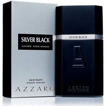 Beauté Homme Eau de parfum Azzaro Silver Black - eau de toilette - 100ml - vaporisateur Silver Black - cologne - 100ml - spray