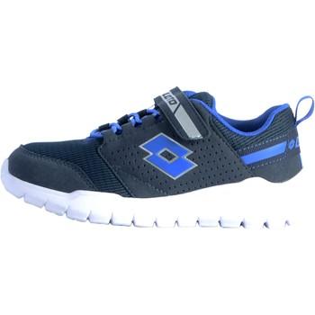 Chaussures Baskets basses Lotto Basket Spacebreeze II CL SL Bleu