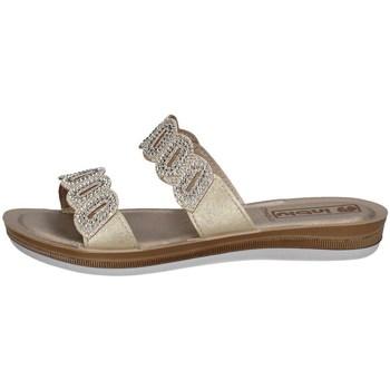Chaussures Femme Mules Inblu BA 37 PLATINE