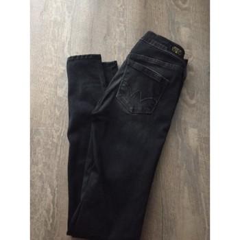 Vêtements Femme Jeans slim Le Temps des Cerises Jean Le temps des cerises Noir