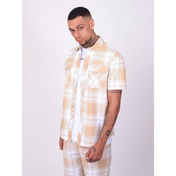 Vêtements Homme Chemises manches courtes Project X Paris Chemise Beige