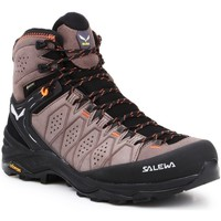 Chaussures Homme Randonnée Salewa MS Alp Trainer 2 Mid GTX 61382-7512 czarny, brązowy