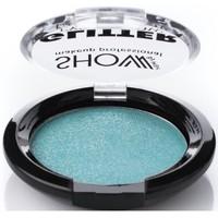 Beauté Femme Fards à paupières & bases Show  Glitter : Turquoise