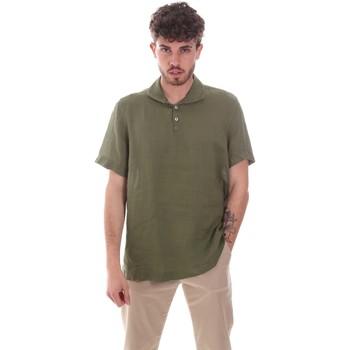 Vêtements Homme Chemises manches courtes Sseinse CE660SS Vert