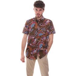 Vêtements Homme Chemises manches courtes Sseinse CE665SS Vert