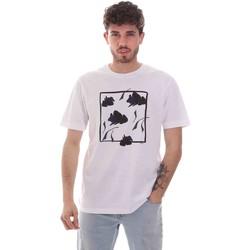 Vêtements Homme T-shirts manches courtes Sseinse TE1818SS Blanc