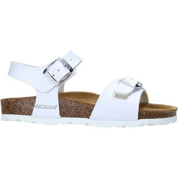 Chaussures Enfant Sandales et Nu-pieds Grunland SB1569 Blanc