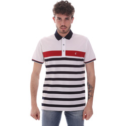 Vêtements Homme Polos manches courtes Navigare NV70028 Blanc