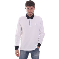 Vêtements Homme Polos manches longues Navigare NV32024 Blanc