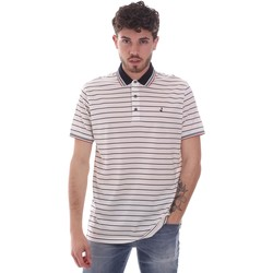 Vêtements Homme Polos manches courtes Navigare NV70034 Blanc