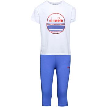 Vêtements Enfant Ensembles de survêtement Diadora 102175918 Blanc