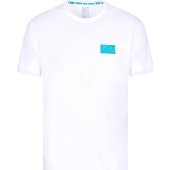 Vêtements Homme T-shirts manches courtes Ea7 Emporio Armani 3KPT50 PJAMZ Blanc