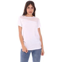 Vêtements Femme T-shirts manches courtes Ea7 Emporio Armani 3KTT34 TJ4PZ Blanc