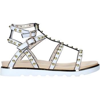 Chaussures Femme Sandales et Nu-pieds Keys K-4976 Blanc
