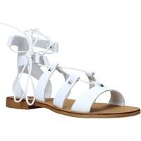 Chaussures Femme Sandales et Nu-pieds Keys K-4880 Blanc