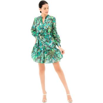 Vêtements Femme Robes courtes Fracomina FR21SD1031W405N4 Vert