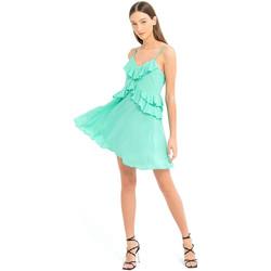Vêtements Femme Robes courtes Fracomina FS21SD1008W42201 Vert
