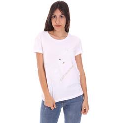 Vêtements Femme T-shirts manches courtes Ea7 Emporio Armani 3KTT28 TJ12Z Blanc