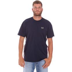 Vêtements Homme T-shirts manches courtes Ea7 Emporio Armani 3KPT13 PJ02Z Bleu