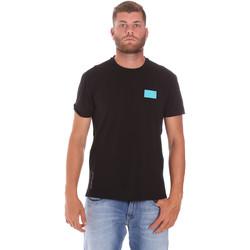 Vêtements Homme T-shirts manches courtes Ea7 Emporio Armani 3KPT50 PJAMZ Noir