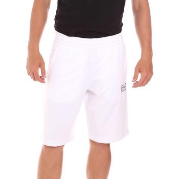 Vêtements Homme Maillots / Shorts de bain Ea7 Emporio Armani 3KPS59 PJ05Z Blanc