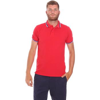 Vêtements Homme Polos manches courtes Sundek M779PLJ6500 Rouge