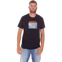 Vêtements Homme T-shirts manches courtes Sundek M047TEJ7800 Noir