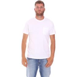 Vêtements Homme T-shirts manches courtes Sundek M050TEJ9300 Blanc