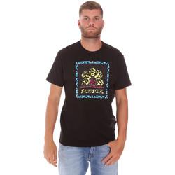 Vêtements Homme T-shirts manches courtes Sundek M021TEJ78FL Noir