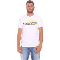Vêtements Homme T-shirts manches courtes Sundek M058TEJ7800 Blanc