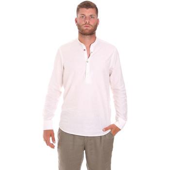 Vêtements Homme Chemises manches longues Sseinse CE611SS Blanc