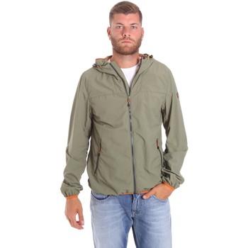 Vêtements Homme Blousons Lumberjack CMB3223 001EU Vert