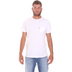 Vêtements Homme T-shirts manches courtes Lumberjack CM60343 022EU Blanc