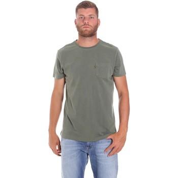Vêtements Homme T-shirts manches courtes Lumberjack CM60343 022EU Vert