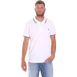 Vêtements Homme Polos manches courtes Lumberjack CM45940 016EU Blanc