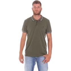 Vêtements Homme Polos manches courtes Lumberjack CM45940 016EU Vert