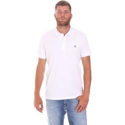 Vêtements Homme Polos manches courtes Lumberjack CM45940 015EU 506 Blanc