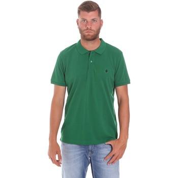 Vêtements Homme Polos manches courtes Lumberjack CM45940 015EU 506 Vert