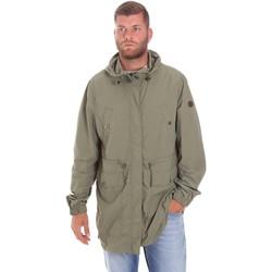 Vêtements Homme Parkas Lumberjack CWB3321 001EU Vert