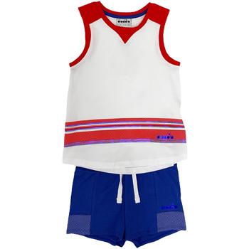 Vêtements Enfant Ensembles enfant Diadora 102175915 Blanc