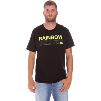 Vêtements Homme T-shirts manches courtes Sundek M058TEJ7800 Noir