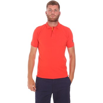 Vêtements Homme Polos manches courtes Sundek M791PLJ6500 Rouge