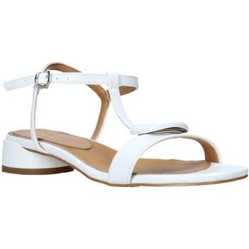Chaussures Femme Sandales et Nu-pieds Grace Shoes 971002 Blanc