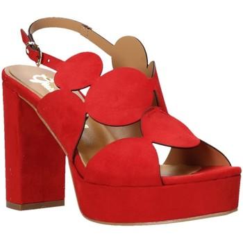 Chaussures Femme Sandales et Nu-pieds Grace Shoes 492PL010 Rouge